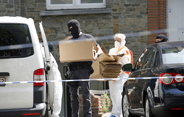 France 'ordered Belgium anti-terror raids' over fear of Bastille Day attack