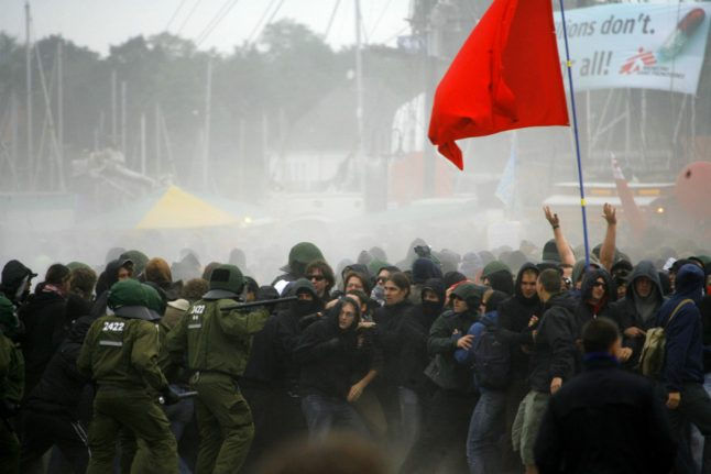 This is how likely things are to get violent in Hamburg at the G20