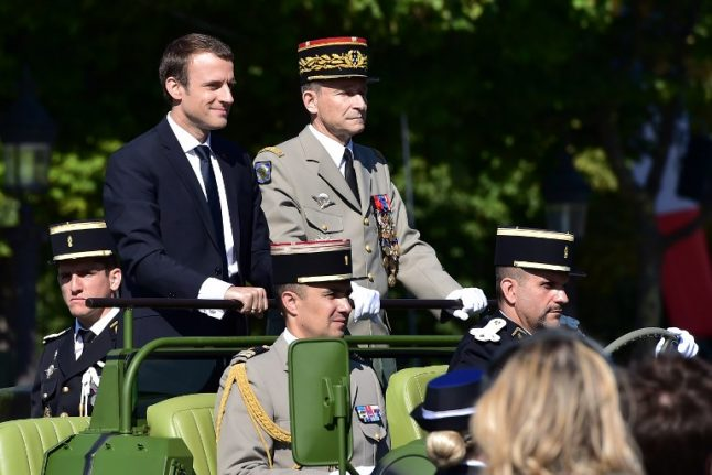 France's top military chief quits after public bust up with Macron