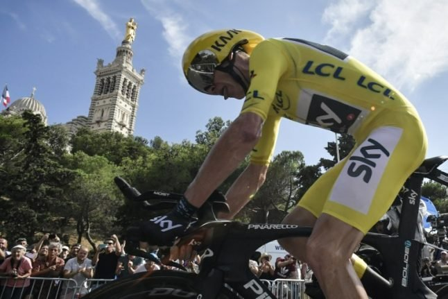 Froome on brink of fourth Tour de France crown