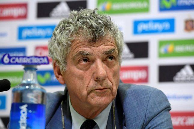 Spanish football federation chief held in fraud probe