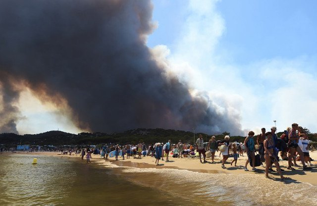 Wildfires in southern France 'under control' as firefighters continue to battle blazes
