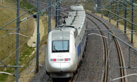 High-speed TGV train hits concrete block on tracks between Paris and west coast