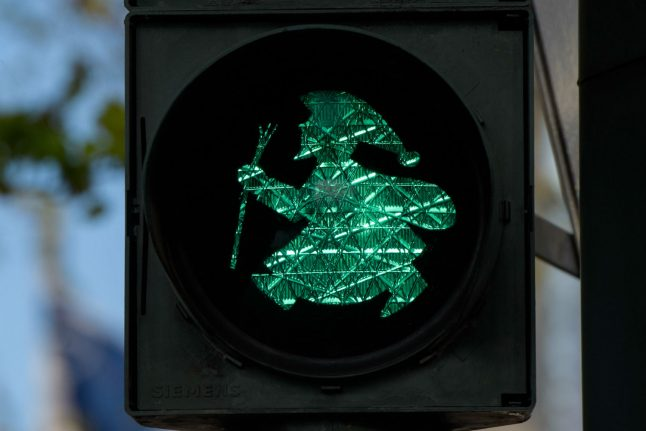 IN PICS: Germany's funny obsession with little green men