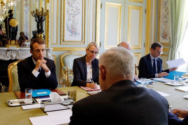 Macron assures Israel of 'vigilance' on Iran nuclear pact