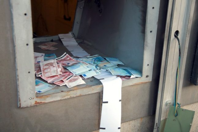 Police arrest gang that specialised in exploding ATMs