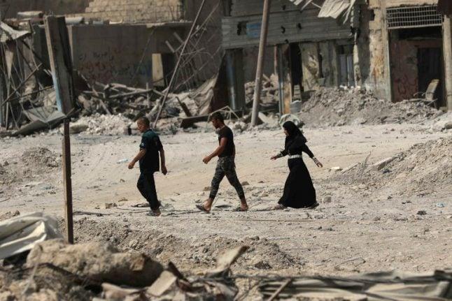 German jihadi girl arrested in Iraq