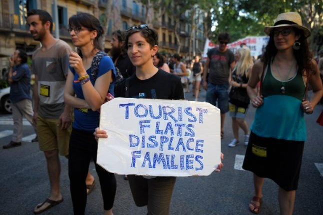 Bye-bye locals: Tourists are taking over Europe's city centres