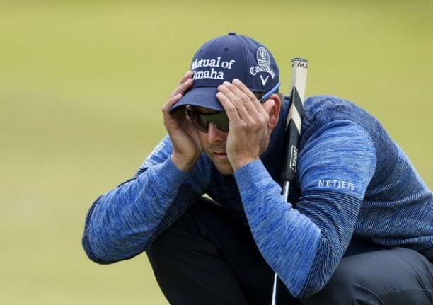 Swedish golfer Stenson has rental home burgled during British Open