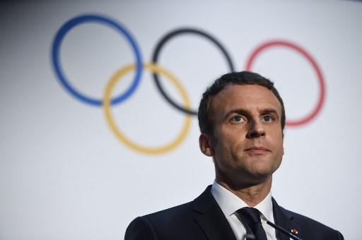 IN PICS: Emmanuel Macron visits Lausanne