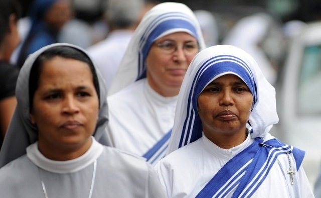 Nuns have copyrighted Mother Theresa's famous sari