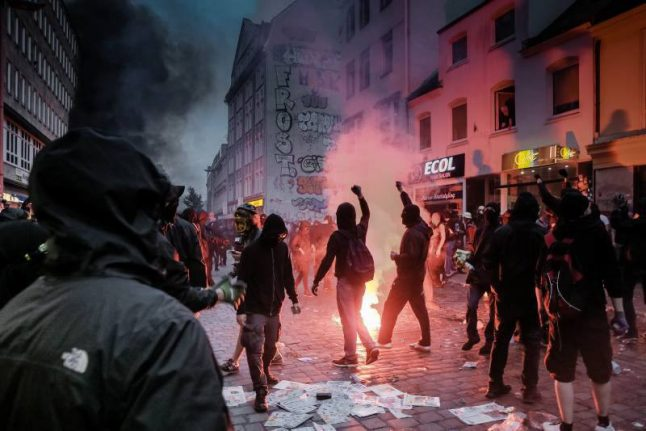 Outcry after AfD politician suggests shooting G20 looters