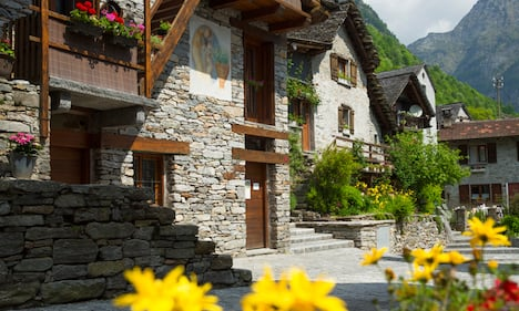 Villages vie to be named prettiest in Switzerland
