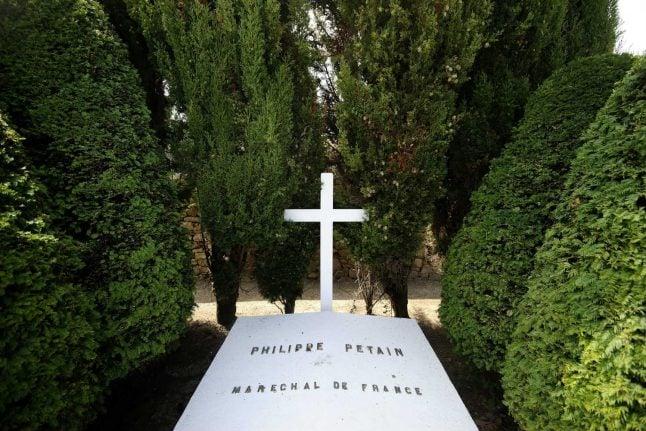 French Nazi collaborator Petain's tomb vandalised
