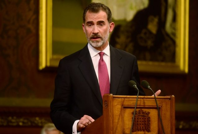WATCH: Spain's King Felipe VI calls for Gibraltar dialogue in speech to UK parliament
