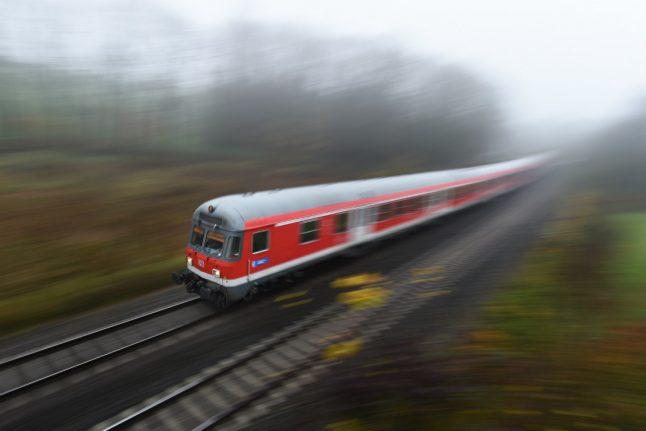 Passengers halt drunk train driver's journey through German countryside