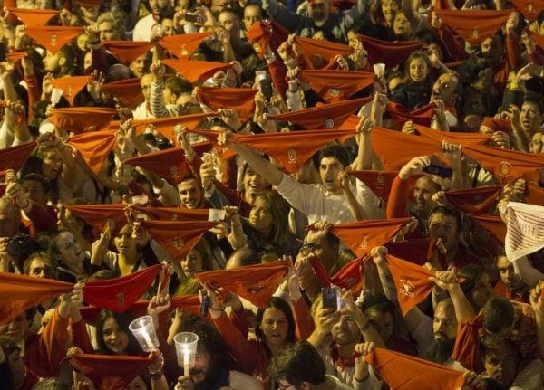 Sexual assault arrests mar Spain's bull running fiesta