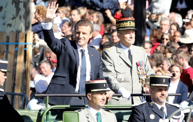 Macron enters into open war with France's armed forces chief