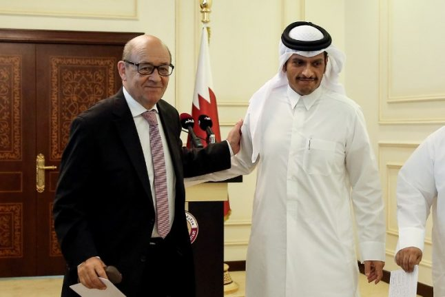 France aims to be 'facilitator' in Gulf crisis talks