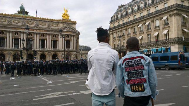 Paris police cancel DR Congo gig after violent demos