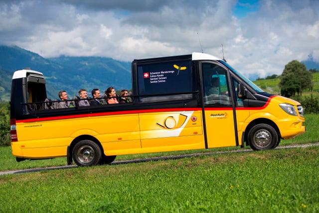 Postbus launches new open-top coach