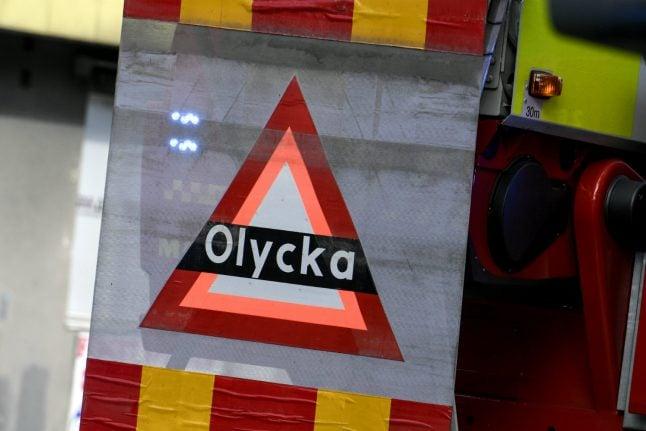 Seven die in traffic accidents during bleak weekend on Swedish roads