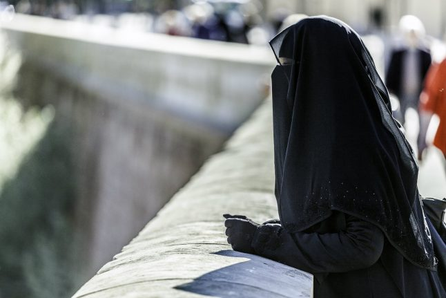 Danish party corrects spokesperson on burqa ban