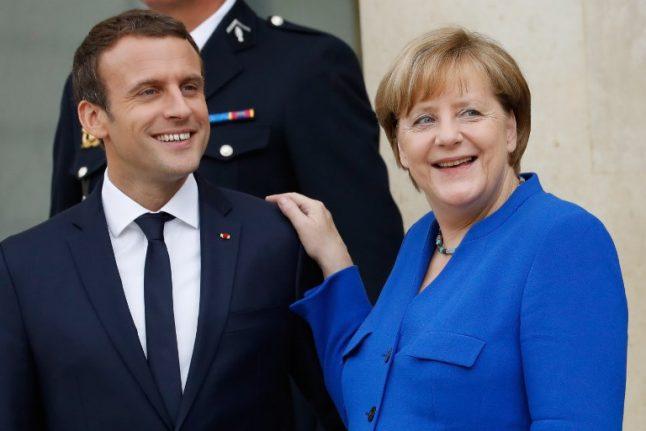 Macron outshines Merkel as EU's top diplomat