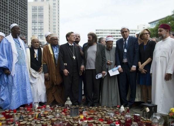 Muslim leaders gather in Berlin to rally against terrorism