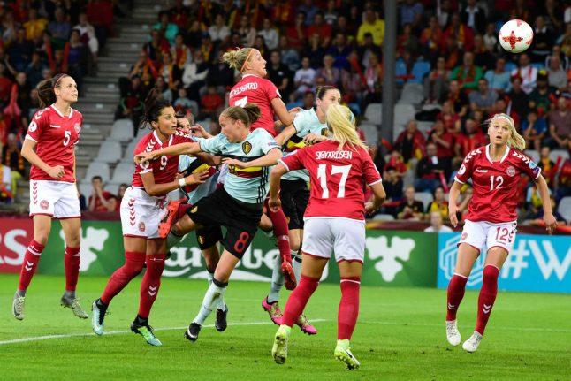 Denmark win women's Euro opener