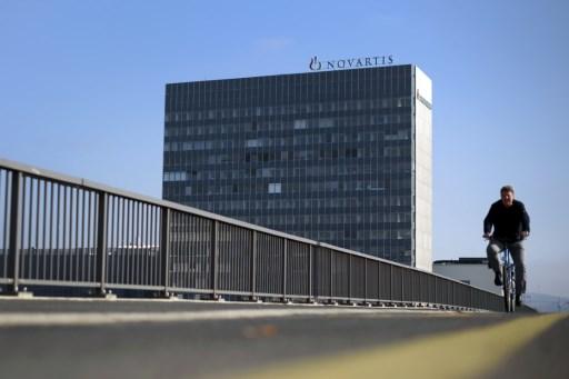 Swiss pharma Novartis sees drop in profits