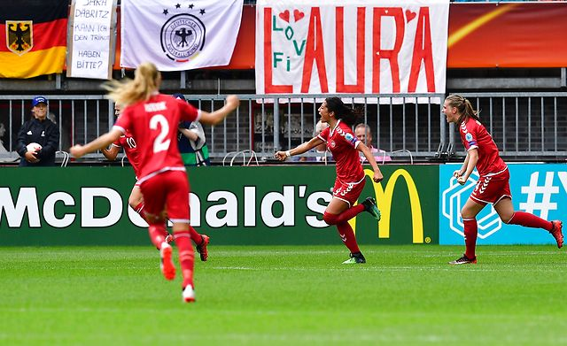 Denmark stun Germany to set-up Austria semi-final clash