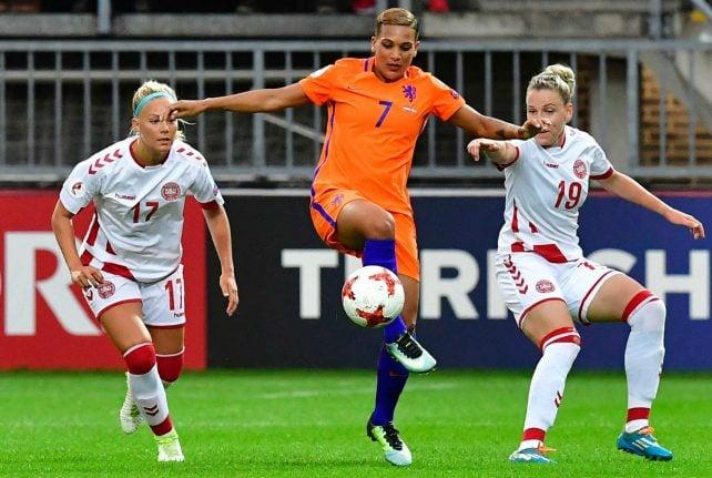Dutch down Danes in women's Euros