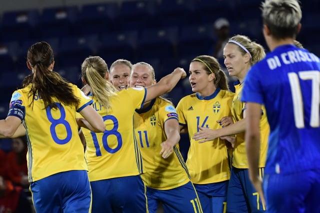 Sweden progress to Women's Euro 2017 quarter-finals