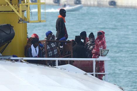 13 found dead in Med dinghy as EU extends rescue scheme
