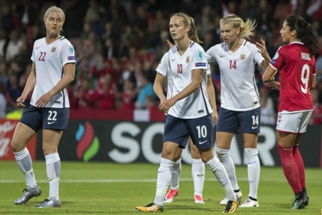 Norway out of Euros without scoring after Danish defeat