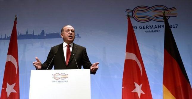 EU backs Germany's tough stance on Turkey