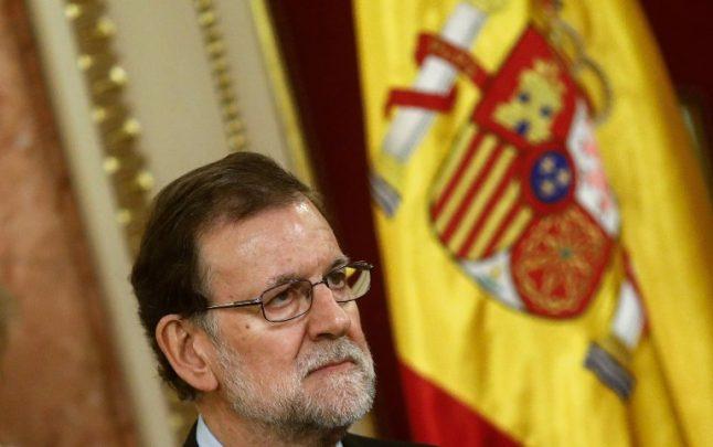 Rajoy calls for calm in face of 'authoritan delusions' in separatist Catalonia