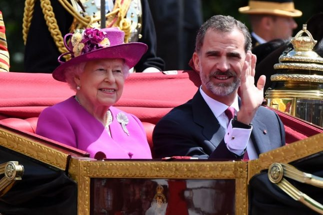 In pics: Spanish royals on parade during state visit to London