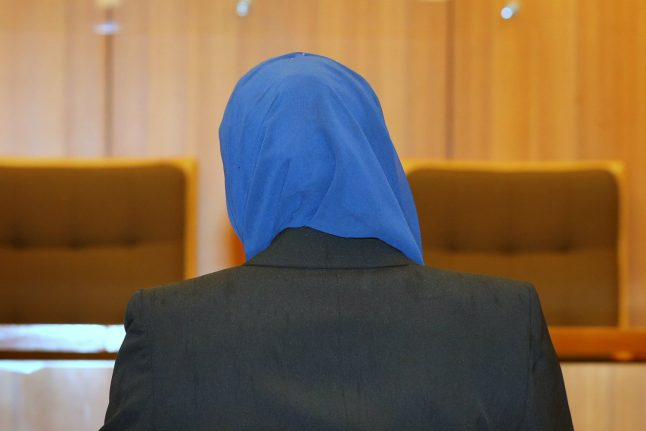 Muslim woman banned from divorcing husband while wearing headscarf