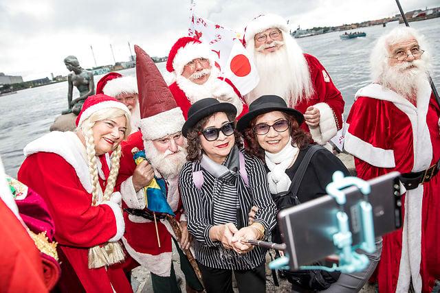 IN PHOTOS: Christmas comes early during Denmark's annual Santa Claus congress