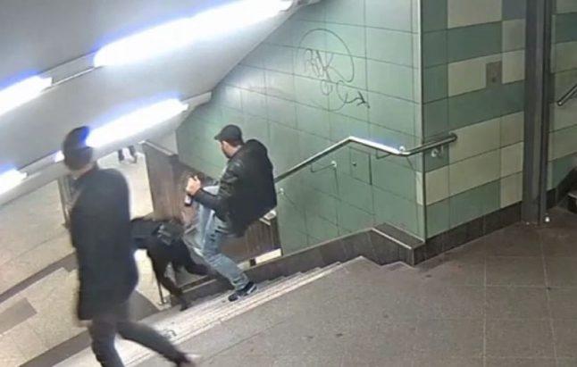 Berlin 'U-Bahn kicker' sentenced to nearly three years in prison