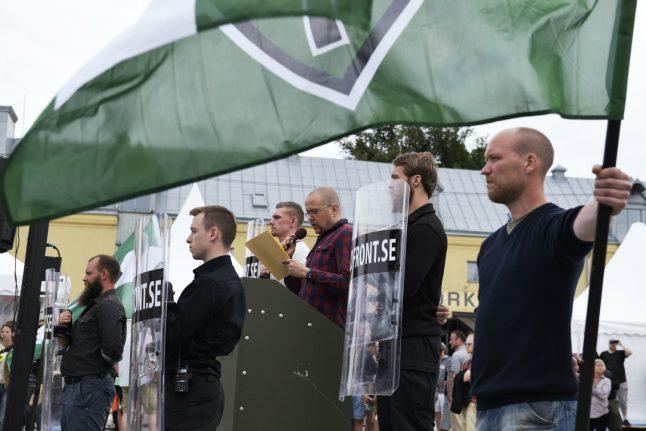 Neo-Nazis call Swedish politicians 'treasonists' at Almedalen forum