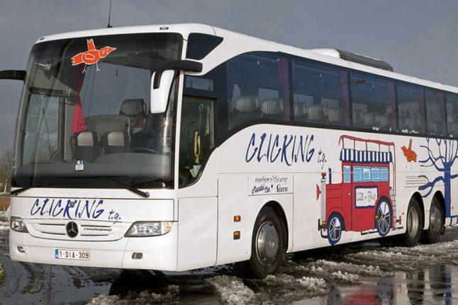 Belgian tourist bus stolen in Copenhagen