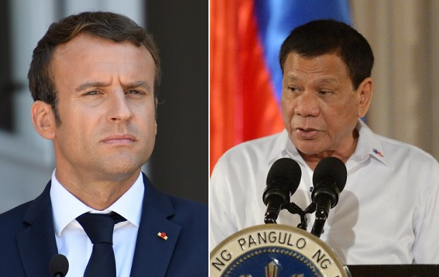 France angers Philippines president in row over human rights