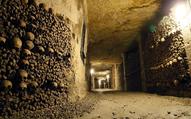 Thieves steal 250 bottles of wine… using the Paris catacombs