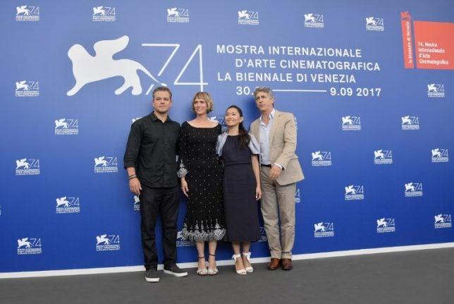 IN PICTURES: 74th Venice film festival kicks off with Matt Damon miniaturized
