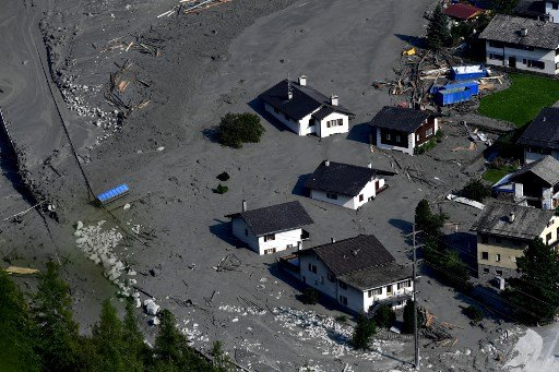 Clear-up after Swiss landslide could take 'several years'