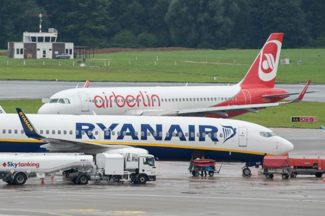 Ryanair rules out Air Berlin bid, denouncing process as 'stitch-up'