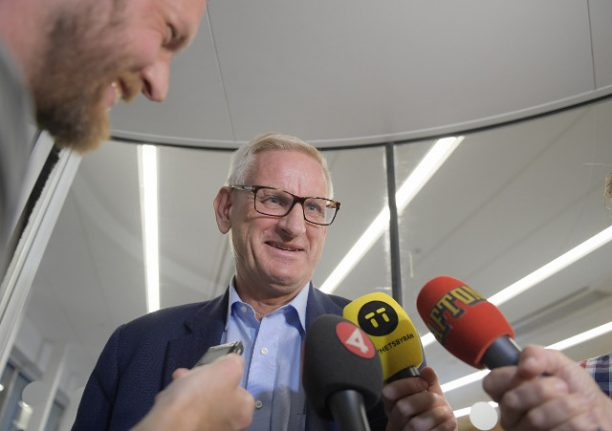 Former PM Carl Bildt says he's 'too old' to return as Moderate leader, despite popularity in polls